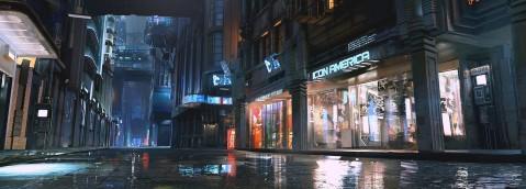 Maciej Kuciara: Cyberpunk 2077 trailer concept art
