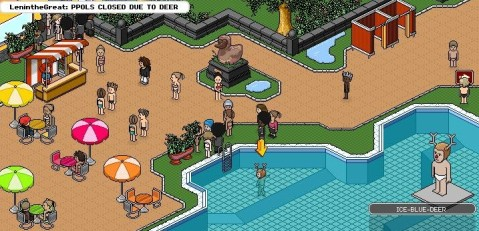 Know Your Meme: Pool's Closed (Habbo Hotel)