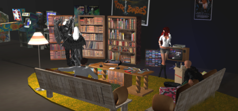 """The Basement"" from Ready Player One, recreated in Second Life, via New World Notes Blog"