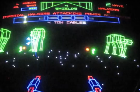 YouTube: Atari The Empire Strikes Back Arcade Game Review