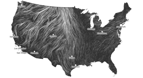 hint.fm wind map: March 13, 2012 (click for animation)