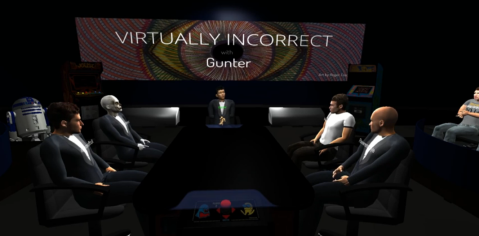 Image Source: Virtually Incorrect Episode 2 (Riftmax Theater software)