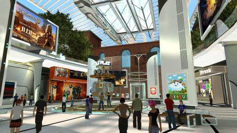 The PlayStation Home, now abandoned by Sony