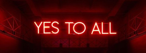 "Image: Artist Sylvie Fleury, ""Yes to All"", 2009"