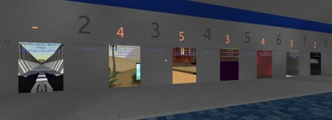 In JanusVR, portals take center stage as the method used to connect otherwise unrelated virtual worlds.