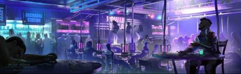 Image Source: Cyberpunk Night Club by Dmitry Sorokin