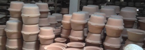 Visit to a clay pot making factory (YouTube)